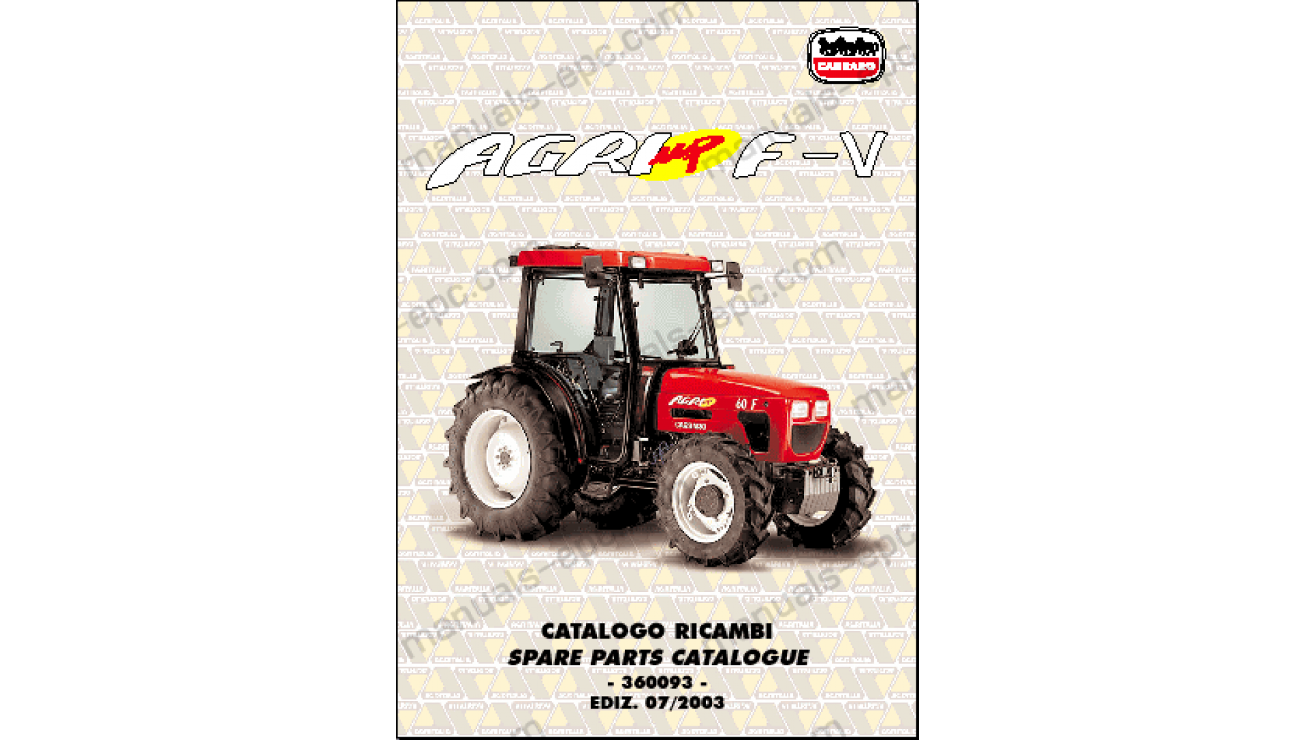 Case Mx210 Tractor Workshop Service Repair Manual Electrical Wiring
